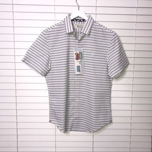 Original Penguin 3D Heritage Slim Fit Button Down